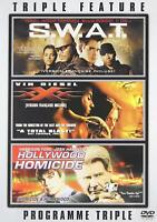 SWAT/XXX/Hollywood Homicide (DVD,3-Disc Set) Bilingual Free Shipping In Canada
