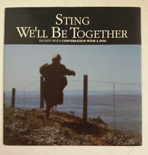 "Sting We'll Be Together Single 7"" UK 1987"