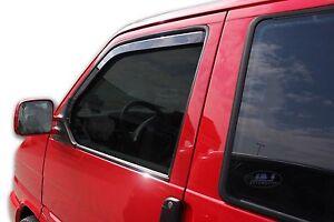 Front wind deflectors 2pc set TINTED HEKO for VW Transporter T4 T-4 Caravelle