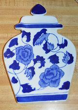 Vintage Boston Warehouse Trading Corp/Apothecary Jar Shape Spoon Rest*Free Ship*
