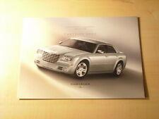 49590) Chrysler 300 C technische Daten & Ausstattung Japan Prospekt 05/2005