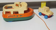 MATCHBOX LIVE N LEARN FAMILY FERRY BOAT AND TRICKY TRUCK KIDS TOY!