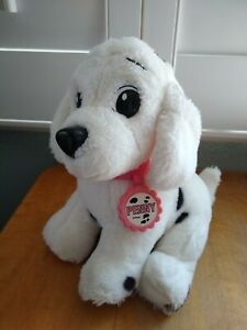 "Vintage Mattel 101 Dalmatians PENNY Puppy Dog Black White Soft 11"" Plush."