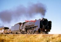 PHOTO  SOUTH AFRICAN RAILWAYS CLASS 23 4-8-2 LOCO 3237 ON THE LINE THAT RUNS IN