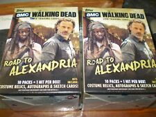 (2) 2018 Topps AMC The Walking Dead: Road to Alexandria HUGE Blaster Box-2 HITS