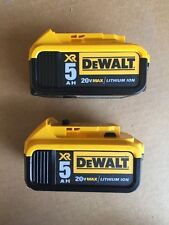 New DeWALT DCB205-2 20-Volt Max Lithium-Ion Battery Pack (2-Pack) DCB205
