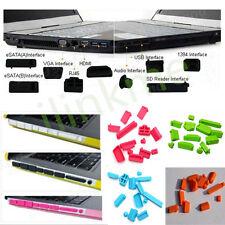 13Pcs/Set Universal Silicone Anti-Dust Port Plug Cover Stopper Laptop Notebook