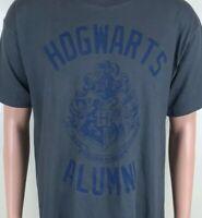 Harry Potter HOGWARTS ALUMNI Gray T-Shirt Sz L NEW NWT Large