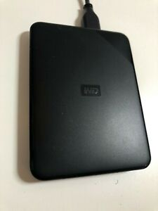 WD Elements SE 2TB Portable Hard Drive WDBEPK0020BBK Black