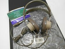 "New ~ TELEX Mono Headphone ~ Model: 610 ~ 1/4"" ~ School Ham Radio Metal Detector"