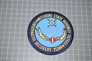 Missouri State Highway Patrol Underwater Recovery Team Patch (B17-S)