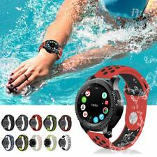 20 22mm Replacement Silicone Quick Release Sport Bracelet Wrist Watch Band Strap