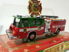 Code 3 Christmas 1998 Fire Engine 1/64 Diecast Model Car Truck Limited Edition