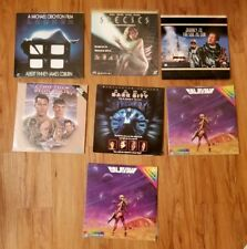 Laserdisc Lot - Sci-Fi -  Star Trek TOS, Species, and more!