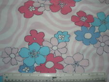 """Jersey Floral More than 60"""" Craft Fabrics"""