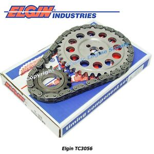 """New Timing Chain & Gear Set Fits sb Chevy 5.7L 350 Vortec .400/.410"""" Tooth Width"""