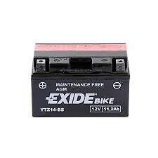 Batterie moto Exide YTZ14-BS 12V 11.2AH neuve