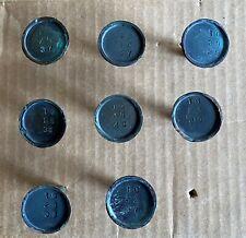 *RARE* Vintage Date Pole Nails Hubbard Copper Set of 8 !!
