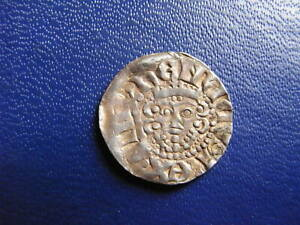 Henry III Silver Voided Long Cross Penny, Class 5c Canterbury 1216-47