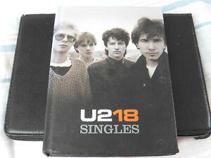 U2 - 18 SINGLES - CD+DVD - DELUXE BOOK EDITION - 2006 CD