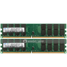 Samsung 8GB (2x4GB) PC2-6400 DDR2 800MHz 240Pin DIMM Desktop Memory For AMD CPU