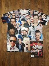 Patriots Tom Brady Barstool Shirt XL Sports Illustrated Super Bowl LIII magazine