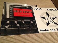 "JULIO JAKETA - BIHAR 12"" LP SPAIN PUNK + BOOKLET"