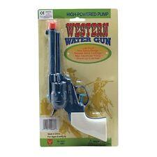 Plastique cowboy pistolet pistolet à eau wild west fancy robe blague squrt