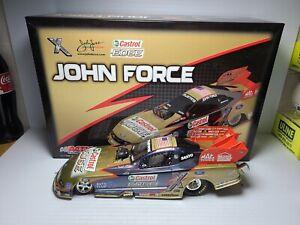 2009 John Force Castrol Edge Liquid Edge 1:24 NHRA Funny Car Action MIB