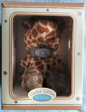 ME TO YOU TATTY TEDDY LIMITED EDITION BEAR GIRAFFE BOXED