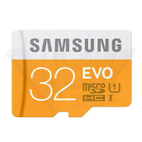 Samsung EVO 32GB Micro SD SDHC SDXC 48MB/s UHS-I Class10 TF Speicherkarte