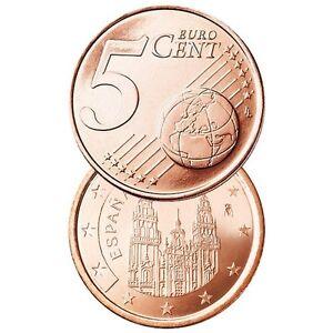 Ek // 5 Cent Espagne # Pièce Nueve : Sélectionnez une Année :