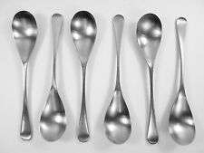 OLD HALL Cutlery - ALVESTON Pattern - Set of 6 Fruit / Starter Spoons - 6 1/2""