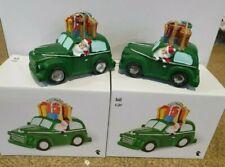 Set Of 2 Christmas Car Ornaments /Decorations