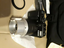 Cannon PowerShot G10 with scope and carry case