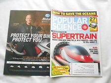 POPULAR SCIENCE Magazine-MAY,2011-SUPERTRAIN-THE FUTURE OF TRAVEL