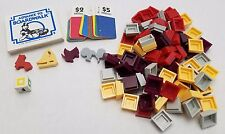 Advance to Boardwalk 1985 Monopoly Spinoff Replacement Hotels & Tokens Die