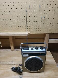 Vintage 1970's JCPenny AM/FM 8-track Player Radio 681-3863 8-Track **READ**