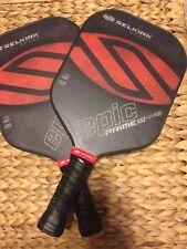 New Selkirk Prime X4 Epic Pickleball Paddle Fiber Flex Tech 1 Paddle