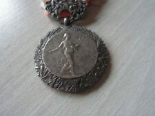 medaille PREVOYANCE SOCIAL ECHELON ARGENT   (ref +6000)