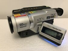 SONY HANDYCAM DCR-TRV320E D8 Digital8 Hi8 Video8 Camera Top