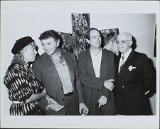 George Christy, Joni Mitchell, Bill Graham, James Corcoran ORIGINAL PHOTO