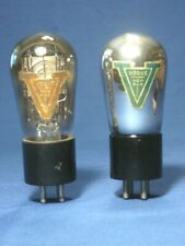 Two Unique Early Vacuum Tubes - Vogue Nonpareil for Dedicated Tube Collectors