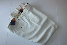 Tommy Bahama Pants Coastal Twill Silk Spray T17153 Flat Front New 32x34 34 Waist
