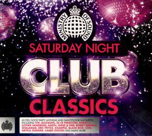 Various Artists : Saturday Night Club Classics CD 3 discs (2013) Amazing Value