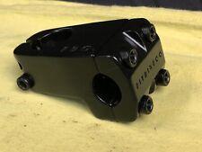 50mm Fit Bike Co 1 1/8 Threadless 22.2 Clamp Black Aluminum Stem