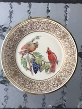 Lenox Boehm Limited Edition Birds Collector Plates - Set Of 2 (1973 And 1976)