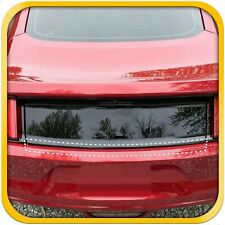 2015-2017 Fits Ford Mustang 1pc Bumper Rear PPF Applique Scratch Guard Exact Fit
