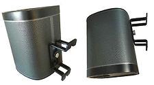 1 Stück Wandhalter 80° schwarz ideal für Sonos Play1 Play 1 Wandhalterung Halter