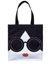 Starbucks Alice Olivia Crystal Bag by Stacey Bendet Face Tote Bag 2017 -no card